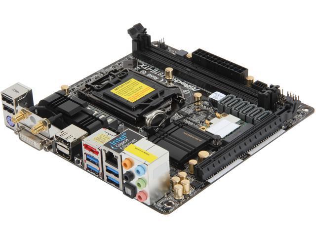 ASRock Z87E-ITX LGA 1150 Intel Z87 HDMI SATA 6Gb/s USB 3.0 Mini ITX Intel I217V Lan 802.11ac WiFi Intel Motherboard