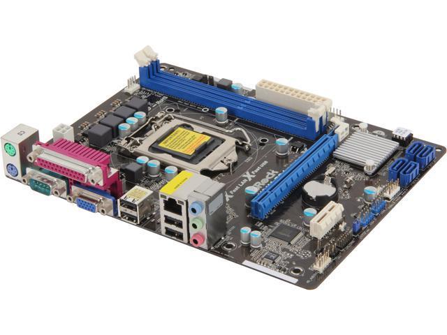ASRock H61M-PS4 LGA 1155 Intel H61 Micro ATX Intel Motherboard
