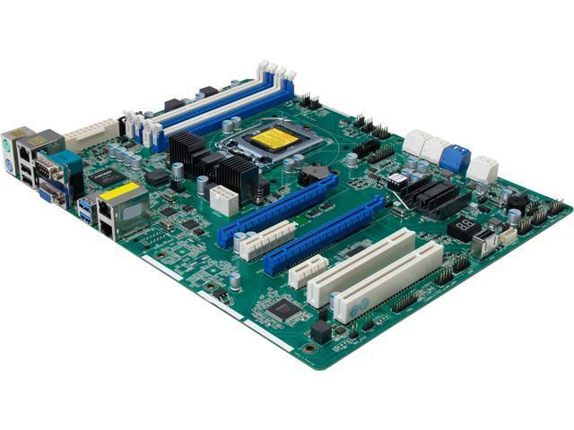 ASRock E3C224 ATX Server Motherboard LGA 1150 Intel C224 DDR3 1600/1333