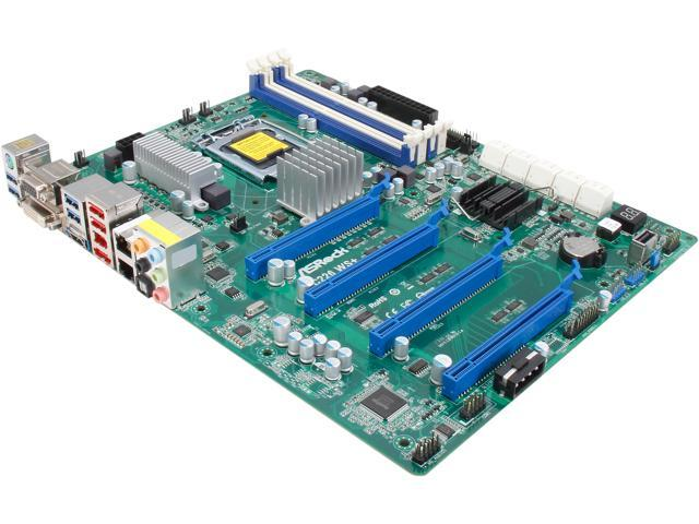 ASRock C226WS+ ATX Server Motherboard LGA 1150 Intel C226 DDR3 1600/1333