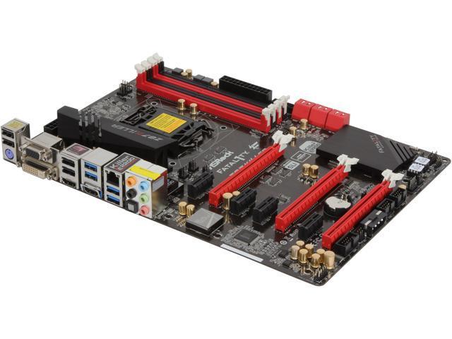 ASRock Fatal1ty Z87 Killer LGA 1150 Intel Z87 HDMI 6 x SATA 6Gb/s USB 3.0 ATX Intel Gaming Motherboard