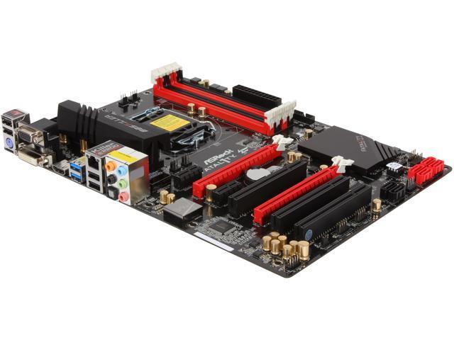 ASRock Fatal1ty B85 Killer LGA 1150 Intel B85 HDMI SATA 6Gb/s USB 3.0 ATX Intel Gaming Motherboard