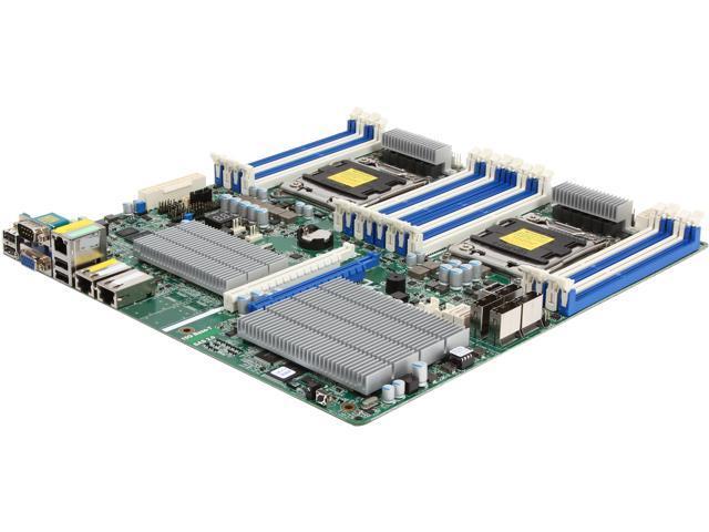 ASRock EP2C602-2TS6/D16 SSI EEB Server Motherboard Dual LGA 2011 Intel C602 DDR3 1600/1333/1066
