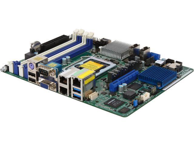 ASRock E3C224D4I-14S Extended mini ITX Server Motherboard LGA 1150 Intel C224 DDR3 1600/1333