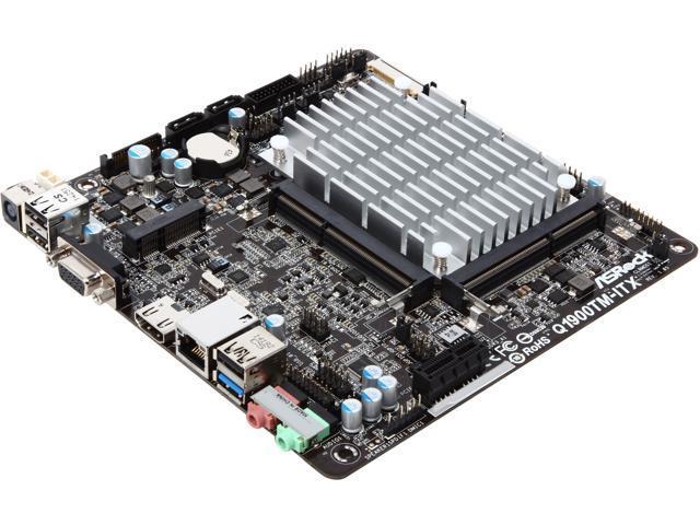 ASRock Q1900TM-ITX Intel Celeron J1900 Motherboard/CPU/VGA Combo