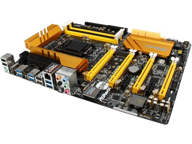 ASRock Z97 OC Formula LGA 1150 Intel Z97 HDMI 8 x SATA 6Gb/s USB 3.0 ATX Intel Motherboard