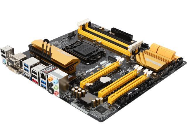 ASRock Z97M OC Formula LGA 1150 Intel Z97 HDMI SATA 6Gb/s USB 3.0 Micro ATX Intel Motherboard