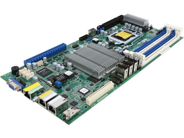 ASRock E3C224D4HM-8R Half Width Server Motherboard LGA 1150 Intel C224 DDR3 1600/1333