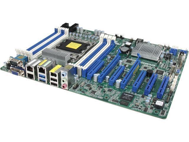 ASRock EPC602D8A ATX Server Motherboard LGA 2011 Intel C602 DDR3 1866/1600/1333/1066