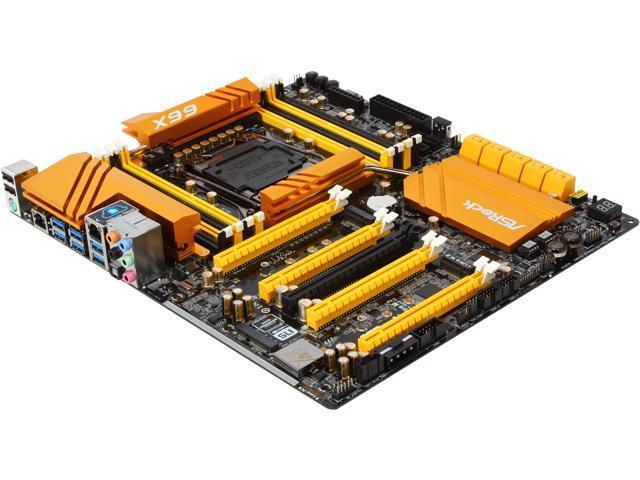 ASRock X99 OC Formula LGA 2011-v3 Intel X99 SATA 6Gb/s USB 3.0 Extended ATX Intel Motherboard