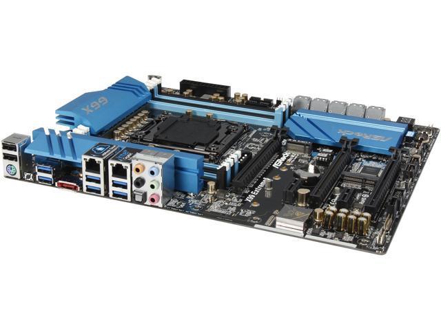 ASRock X99 Extreme6 LGA 2011-v3 Intel X99 SATA 6Gb/s USB 3.0 ATX Intel Motherboard