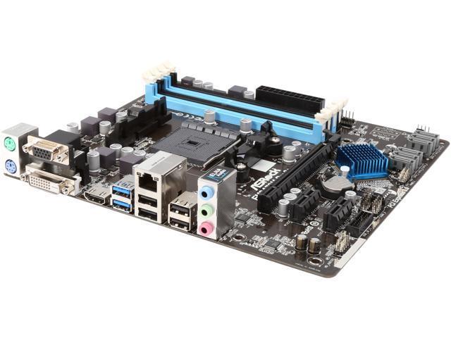 ASRock FM2A78M PRO3+ FM2+ / FM2 AMD A78 (Bolton D3) HDMI SATA 6Gb/s USB 3.0 Micro ATX AMD Motherboard