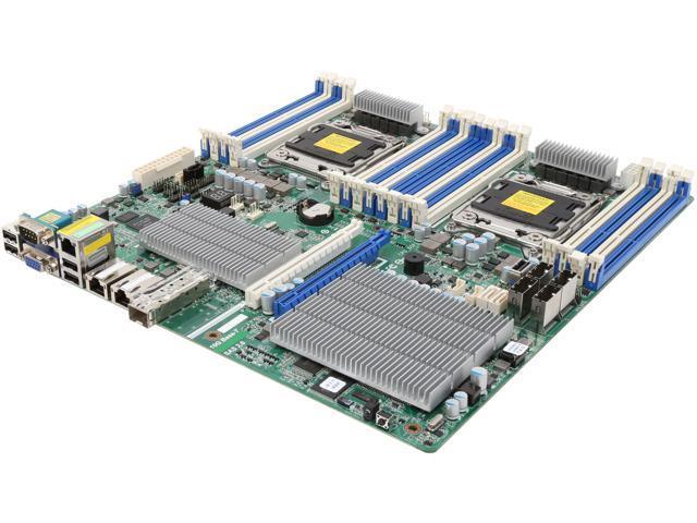 ASRock EP2C602-2L+OS6/D16 SSI EEB Server Motherboard Dual LGA 2011 Intel C602 DDR3 1600/1333/1066