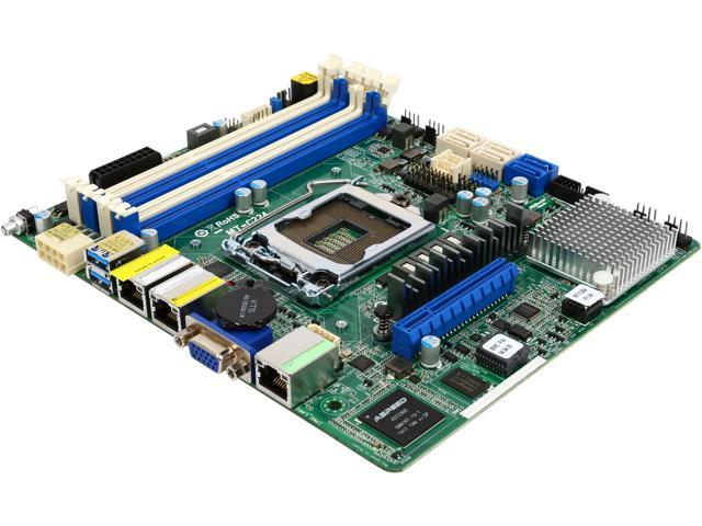 ASRock MT-C224 Extended mini ITX Server Motherboard LGA 1150 Intel C224 DDR3 1600/1333