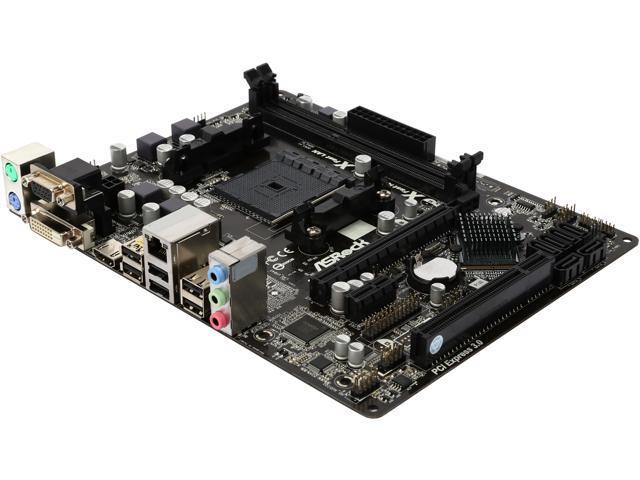 ASRock FM2A58M-HD+ FM2+ / FM2 AMD A58 FCH (Bolton-D2) HDMI Micro ATX AMD Motherboard