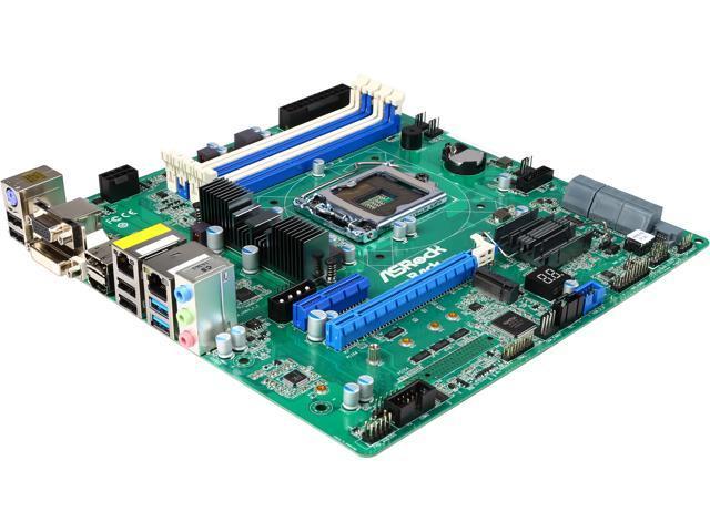 ASRock H97M WS Micro ATX Server Motherboard LGA 1150 Intel H97 DDR3 1600/1333 /1066