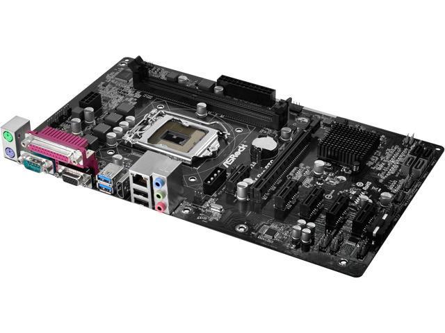 ASRock H81 PRO BTC R2.0 LGA 1150 Intel H81 HDMI SATA 6Gb/s USB 3.0 ATX Intel Mot 1
