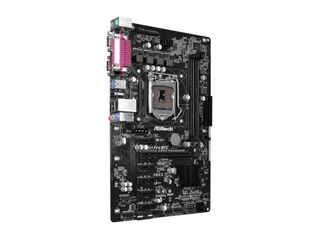 ASRock H81 PRO BTC R2.0 LGA 1150 Intel H81 HDMI SATA 6Gb/s USB 3.0 ATX Intel Mot 5