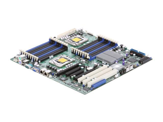 SUPERMICRO MBD-X8DTN+-O Dual LGA 1366 Intel 5520 Extended ATX Dual Intel Xeon 5500 and 5600 Series Server Motherboard