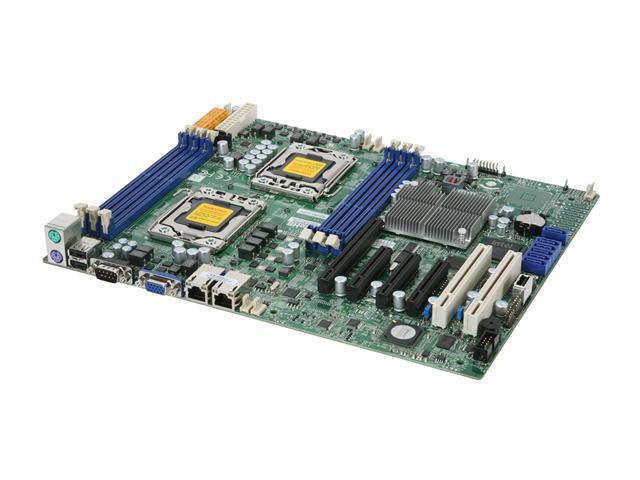 SUPERMICRO MBD-X8DTL-i-O Dual LGA 1366 Intel 5500 ATX Dual Intel Xeon 5500 and 5600 Series Server Motherboard