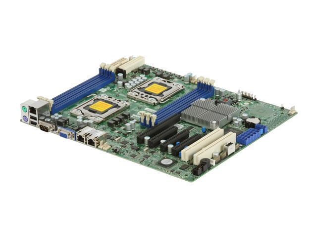 SUPERMICRO MBD-X8DTL-iF-O Dual LGA 1366 Intel 5500 ATX Dual Intel Xeon 5500 and 5600 Series Server Motherboard
