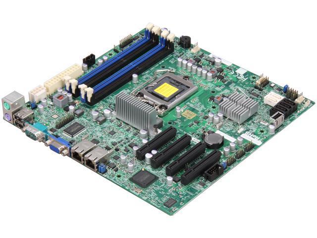 SUPERMICRO MBD-X9SCM-O LGA 1155 Intel C204 Micro ATX Intel Xeon E3 Server Motherboard