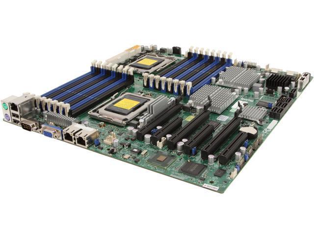 SUPERMICRO MBD-H8DG6-F-O E-ATX Form Server Motherboard Dual 1944-pin Socket G34 2 x AMD SR5690 DDR3 1600/1333/1066
