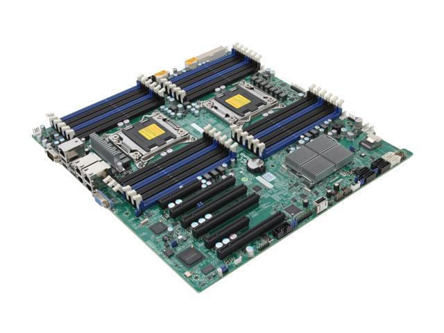 SUPERMICRO MBD-X9DRI-LN4F+-O Enhanced Extended ATX Server Motherboard Dual LGA 2011 DDR3 1600/1333/1066/800