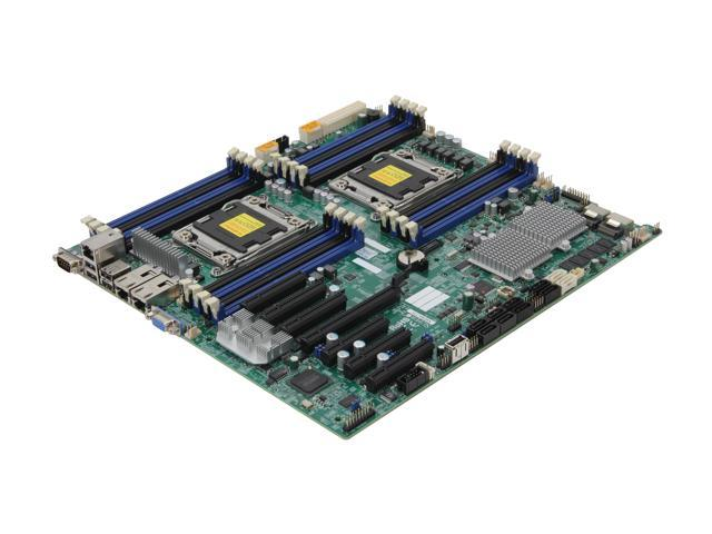 SUPERMICRO MBD-X9DRH-7TF-O Extended ATX Server Motherboard Dual LGA 2011 DDR3 1600/1333/1066/800
