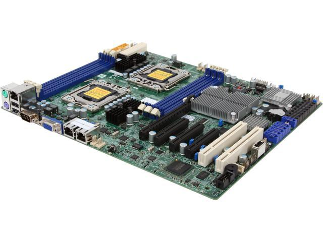 SUPERMICRO X8DTL-6F ATX Server Motherboard Dual LGA 1366 Intel 5500 DDR3 1333/1066/800