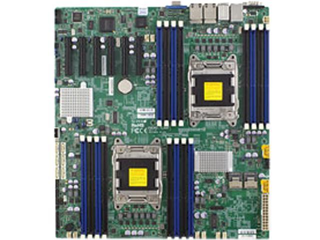 Supermicro X9DRD-7LN4F Server Motherboard - Intel C602-J Chipset - Socket R LGA-2011 - Bulk Pack