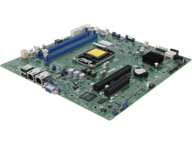 SUPERMICRO MBD-X10SLL-S-O uATX Server Motherboard LGA 1150 Intel C222 DDR3 1600