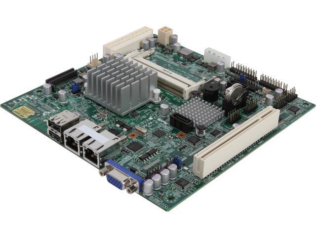 SUPERMICRO MBD-X9SCAA-L-O Mini ITX Server Motherboard FCBGA559 Intel NM10 DDR3 1066