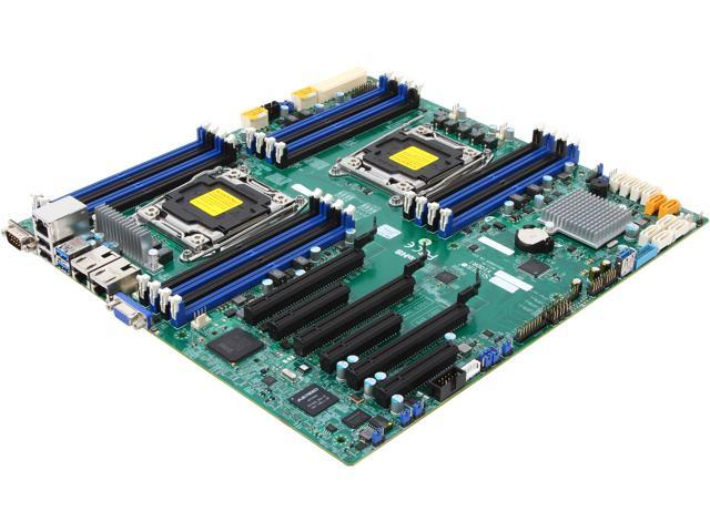 SUPERMICRO MBD-X10DRI Extended ATX Server Motherboard Dual LGA 2011 R3 Intel C612