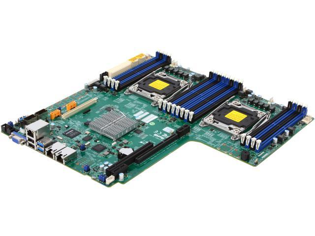SUPERMICRO MBD-X10DDW-I-O Proprietary WIO Xeon Server Motherboard Dual LGA 2011 Intel C612