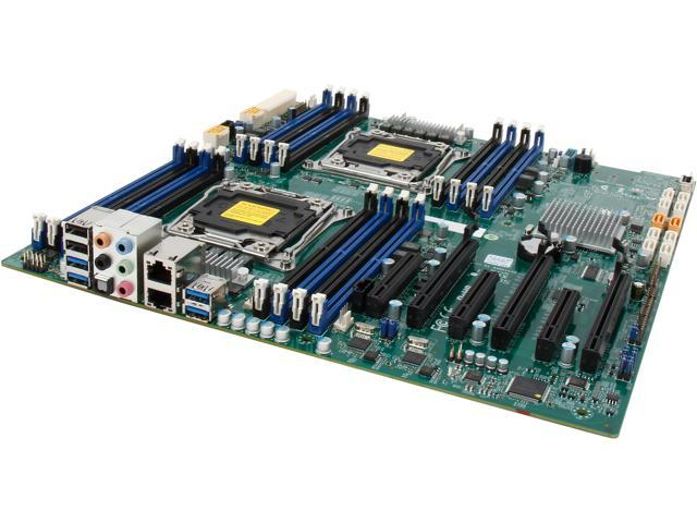 SUPERMICRO MBD-X10DAI-O Extended ATX Xeon Server Motherboard Dual LGA 2011 Intel C612