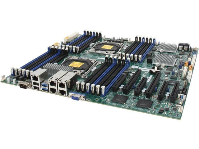 SUPERMICRO MBD-X10DRC-LN4+-O Enhanced Extended ATX Xeon Server Motherboard Dual LGA 2011 Intel C612