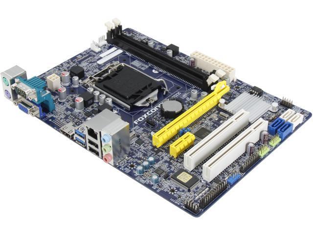 Foxconn H81MX LGA 1150 Intel H81 HDMI SATA 6Gb/s USB 3.0 Micro ATX Intel Motherboard