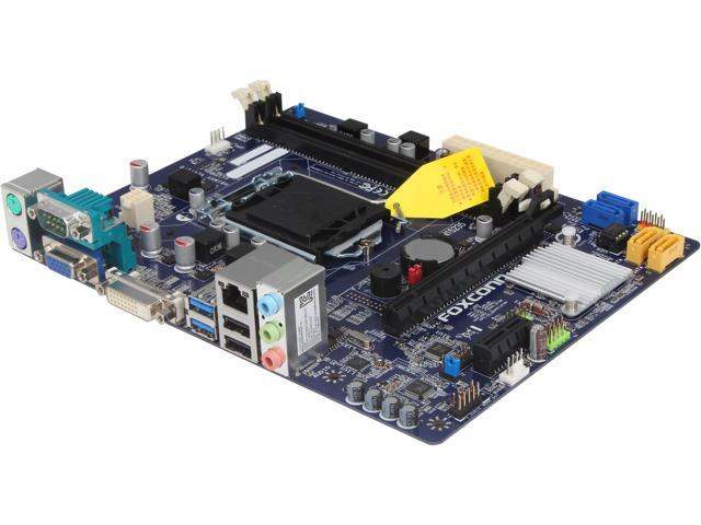 Foxconn H81MXV-D LGA 1150 Intel H81 SATA 6Gb/s USB 3.0 Micro ATX Intel Motherboard