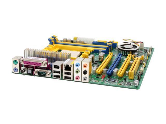 eVGA 131-K8-NF44-AX Socket 939 NVIDIA nForce4 SLI Micro ATX AMD Motherboard - Retail