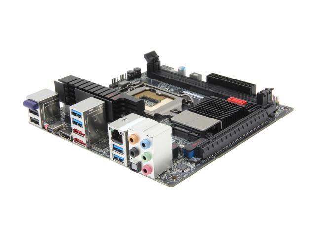 EVGA Z77 Stinger miniITX - LGA 1155 Intel Z77 HDMI SATA 6Gb/s USB 3.0 Mini ITX Motherboard with UEFI BIOS (111-IB-E692-KR)