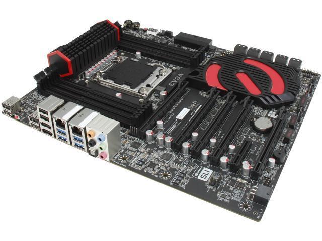 EVGA X79 Dark (150-SE-E789-K2) LGA 2011 Intel X79 SATA 6Gb/s USB 3.0 Extended ATX Intel Motherboard