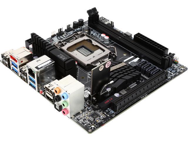 EVGA 111-HR-E973-KR LGA 1150 Intel Z97 HDMI SATA 6Gb/s USB 3.0 Mini ITX Intel Motherboard