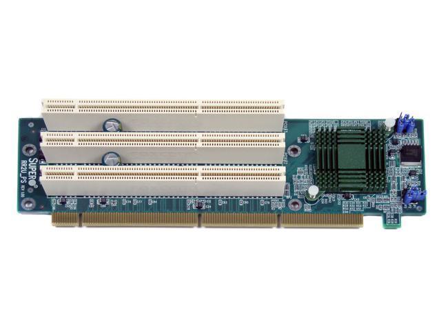 SUPERMICRO CSE-RR2U-PS Riser Card, 64bit, Intel chipset