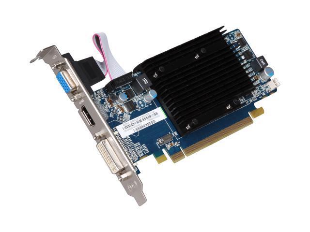 SAPPHIRE 100292DDR3L Radeon HD 5450 1GB 64-bit DDR3 PCI Express 2.1 x16 HDCP Ready Low Profile Ready Video Card