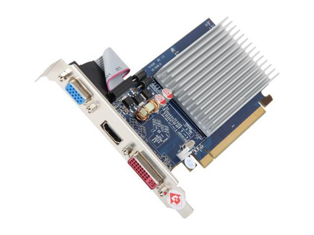 DIAMOND 5450PE31G Radeon HD 5450 1GB GDDR3 PCI Express 2.1 x16 HDCP Ready Video Card