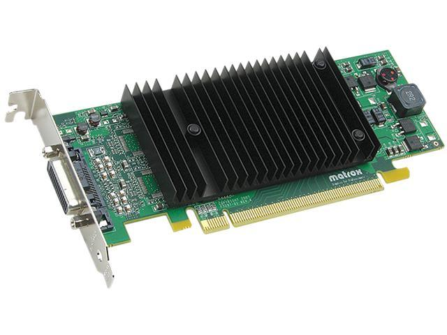 matrox P69-MDDE128LPF Millennium P690 128MB GDDR2 PCI Express x16 Low Profile Workstation Video Card