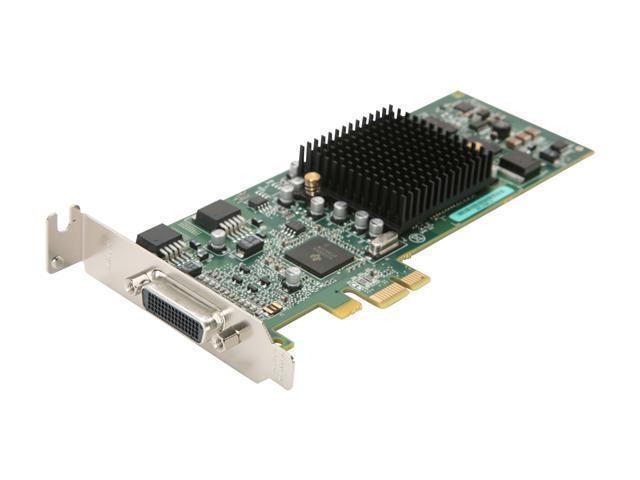 Matrox G550 G55-MDDE32LPDF 32MB PCI Express x1 Low Profile Workstation Video Card