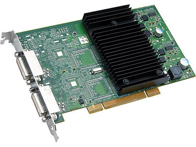 matrox P69-MDDP128F Millennium P690 128MB GDDR2 PCI Workstation Video Card