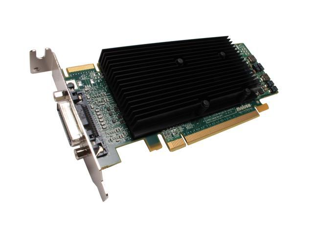 matrox M9120-E512LPUF 512MB GDDR2 PCI Express x16 Low Profile Workstation Video Card